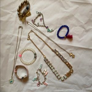 MOVING SALE! Bag of little girls jewelry EUC